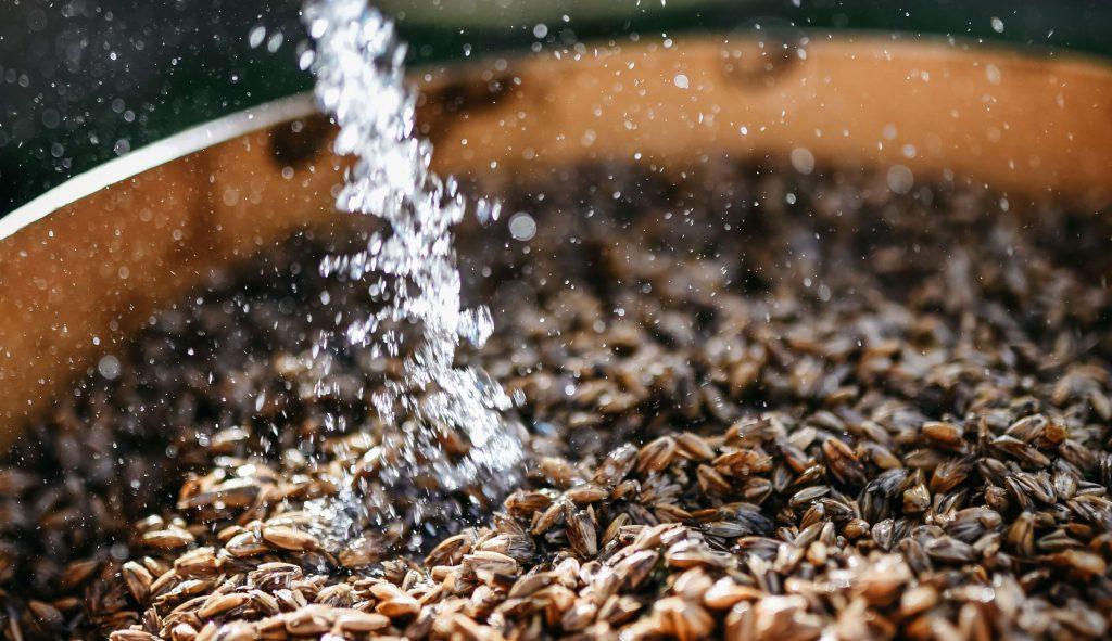 priprava semena pire pranje
