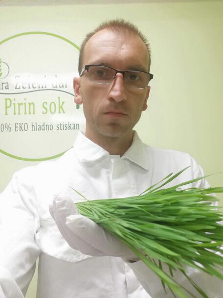 Stanko Gobec lastnik in ustanovitelj Zelenega dara